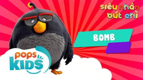 Siêu nhân Bút chì - Cách vẽ Bomb (Angry Birds)