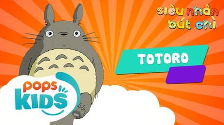 Siêu nhân Bút chì - Cách vẽ Totoro (Hàng xóm của tôi là Totoro)