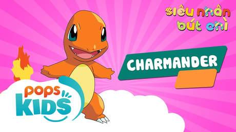 Siêu Nhân Bút Chì - Cách vẽ Charmander (Pokémon)