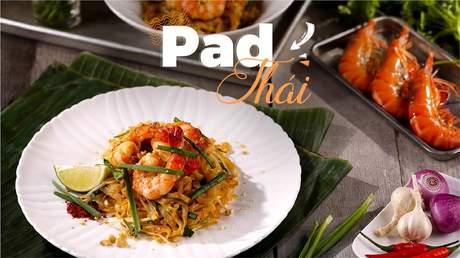 Hướng Nghiệp Á Âu - Vào Bếp Cùng Bếp Trưởng 5 Sao: Cách làm món pad Thái ngon chuẩn vị Thái