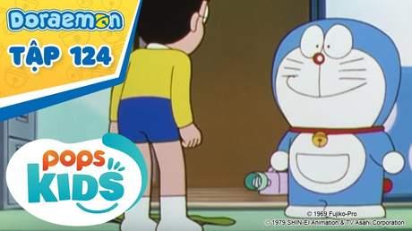 Doraemon S3 - Tập 124: Máy chuyển đổi chất liệu