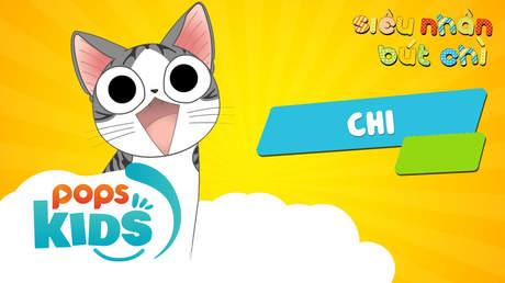 Siêu nhân Bút chì - Cách vẽ mèo Chi (Chi's sweet home)