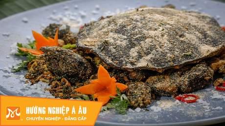 Hướng Nghiệp Á Âu - Vào Bếp Cùng Bếp Trưởng 5 Sao: Cách làm baba rang muối ngon bổ từ siêu đầu bếp