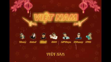 95G ft. Wowy, Suboi, Bred - Việt Nam (Official Audio)
