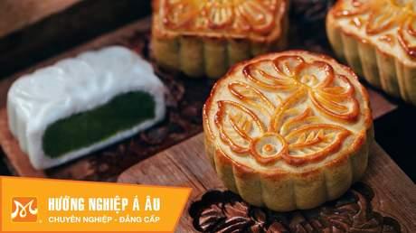 Hướng Nghiệp Á Âu - Học Làm Bánh Ngon: Cách làm bánh dẻo trung thu nhân đậu xanh
