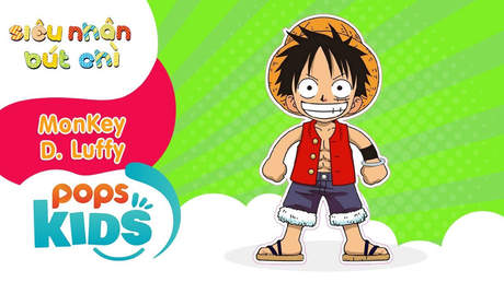 Siêu nhân Bút chì - Cách vẽ Luffy (Đảo hải tặc)