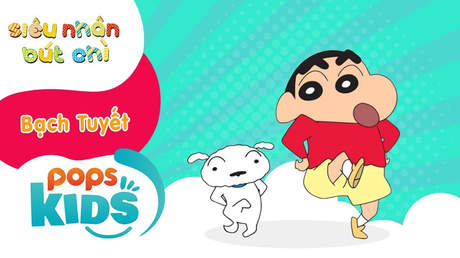 Siêu nhân Bút chì - Cách vẽ chú chó Bạch Tuyết (Shin - Cậu bé bút chì)