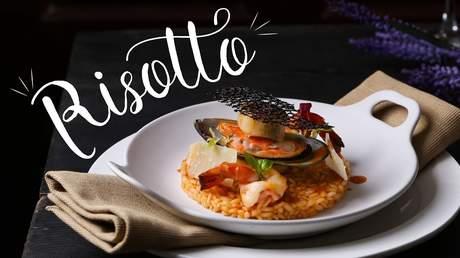 Hướng Nghiệp Á Âu - Vào Bếp Cùng Bếp Trưởng 5 Sao: Cách làm risotto ngon chuẩn vị Ý