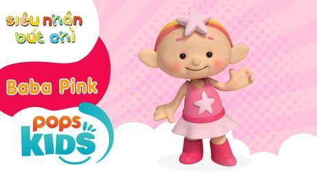 Siêu nhân Bút chì - Cách vẽ Baba Pink (Những em bé mây)