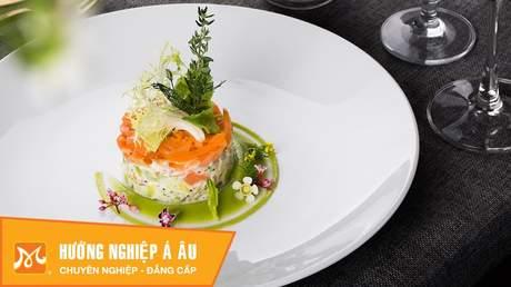 Hướng Nghiệp Á Âu - Vào Bếp Cùng Bếp Trưởng 5 Sao: Cách làm salad bơ cá hồi xông khói