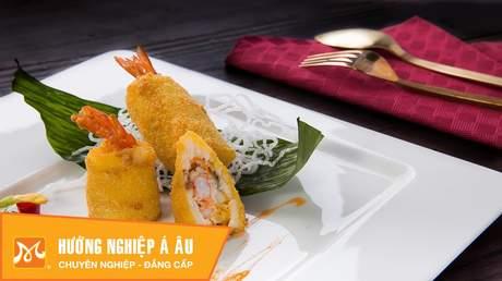 Hướng Nghiệp Á Âu - Vào Bếp Cùng Bếp Trưởng 5 Sao: Cách làm chả giò tôm cá lóc cực ngon, giòn rụm