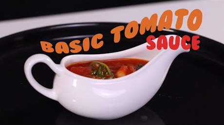 Hướng Nghiệp Á Âu - Vào Bếp Cùng Bếp Trưởng 5 Sao: Cách làm Basic Tomate Sauce chuẩn vị Âu tinh tế