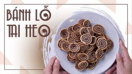 Hướng Nghiệp Á Âu - Học Làm Bánh Ngon: Cách làm bánh lỗ tai heo đơn giản siêu ngon