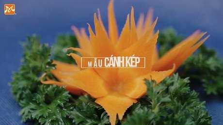 Hướng Nghiệp Á Âu - Nghệ Thuật Cắt Tỉa: Hướng dẫn cắt tỉa hoa ly từ cà rốt đơn giản và đẹp