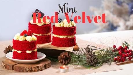 Hướng Nghiệp Á Âu - Học Làm Bánh Ngon: Cách làm bánh mini red velvet thơm ngon khó cưỡng