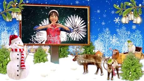Bé Bảo An - Merry Christmas