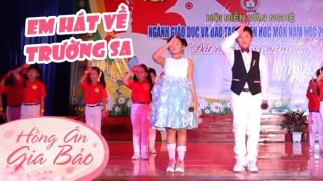Bé Hồng Ân - Khánh Ngọc, Đình Nghiêm: Em hát về Trường Sa