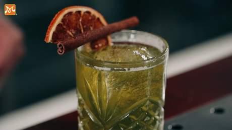 Hướng Nghiệp Á Âu - Học Pha Chế: Pha chế cocktail matcha holic thật thơm ngon và mùi vị quyến rũ