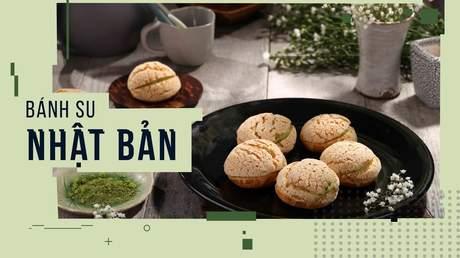 Hướng Nghiệp Á Âu - Học Làm Bánh Ngon: Cách làm bánh su kem trà xanh Nhật Bản vỏ giòn, ngon chuẩn vị