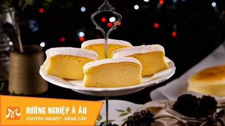 Hướng Nghiệp Á Âu - Học Làm Bánh Ngon: Cách làm bánh Tokyo cheesecake ngon đúng chuẩn