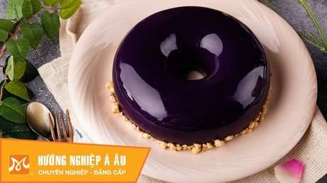 Hướng Nghiệp Á Âu - Học Làm Bánh Ngon: Cách làm bánh tráng gương đẹp lung linh (mirror glaze cake)