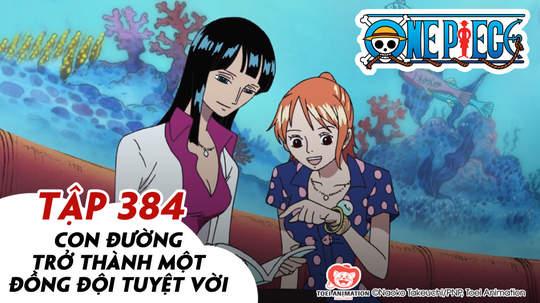 One Piece S11 - Tập 384: Con đường trở thành một đồng đội tuyệt vời