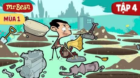 Mr. Bean S1 - Tập 4: Kho báu của Bean