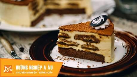 Hướng Nghiệp Á Âu - Học Làm Bánh Ngon: Cách làm bánh tiramisu siêu ngon dễ làm