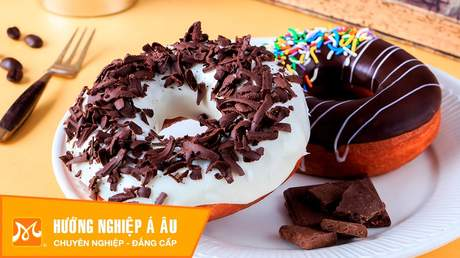 Hướng Nghiệp Á Âu - Học Làm Bánh Ngon: Cách làm bánh donut ngon mà đơn giản