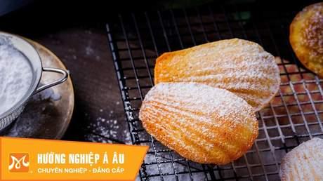Hướng Nghiệp Á Âu - Học Làm Bánh Ngon: Cách làm bánh madeleine (bánh vỏ sò) thơm ngon quyến rũ