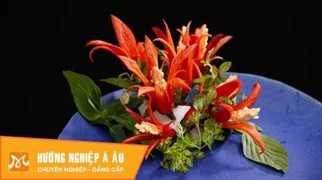 Hướng Nghiệp Á Âu - Nghệ Thuật Cắt Tỉa: 5 cách tỉa hoa từ ớt cực đẹp mà đơn giản