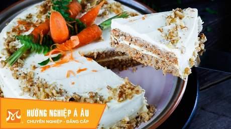 Hướng Nghiệp Á Âu - Học Làm Bánh Ngon: Cách làm bánh cà rốt (carrot cake recipe)
