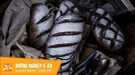 Hướng Nghiệp Á Âu - Học Làm Bánh Ngon: Cách làm bánh mì đen ngon tuyệt tốt cho sức khỏe