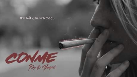 Koo ft. Boyzed - Conme (Lyrics video)