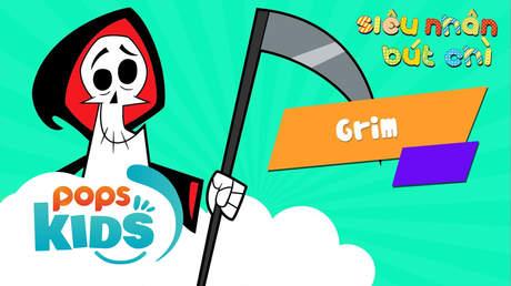 Siêu Nhân Bút Chì - Cách vẽ Grim (Billy Và Mandy)