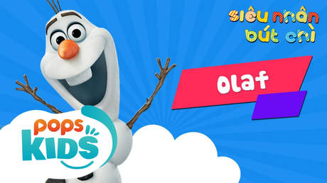 Siêu nhân Bút chì - Cách vẽ Olaf (Frozen)
