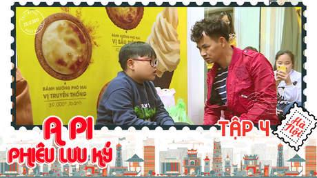 A Pi phiêu lưu ký: Hà Nội 36 phố phường - Tập 4