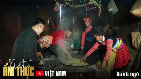 Nét ẩm thực Việt: Bánh ngô