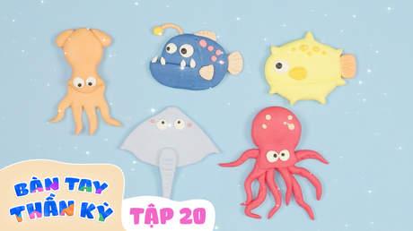 Bàn Tay Thần Kỳ - Tập 20: Đại dương bí ẩn
