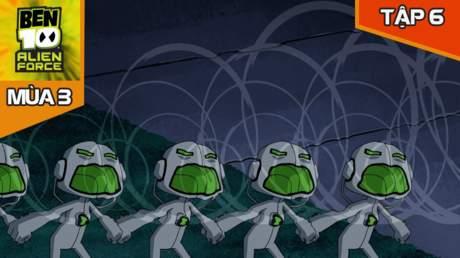 Ben 10 Alien Force S3 - Tập 6: Đừng sợ Repo