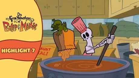 Billy and Mandy - Highlight 7: Thần chết nấu ăn và công thức thảm họa