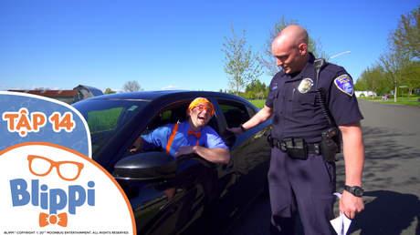Blippi - Tập 14: Blippi khám phá xe cảnh sát
