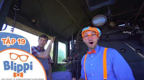 Blippi - Tập 19: Blippi khám phá xe lửa chạy bằng hơi nước