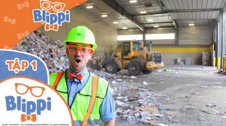 Blippi - Tập 1: Blippi tái chế với xe tải chở rác