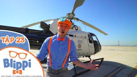 Blippi - Tập 23: Blippi khám phá máy bay trực thăng cảnh sát