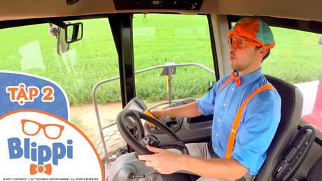 Blippi - Tập 2: Blippi khám phá xe cắt cỏ