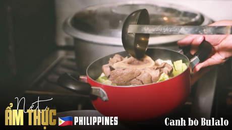 Nét ẩm thực Philippines: Canh bò Bulalo
