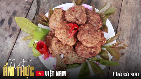 Nét ẩm thực Việt: Chả cá sơn