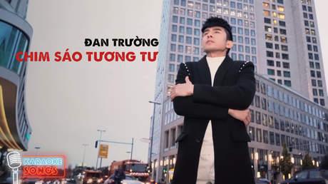 Đan Trường - Karaoke: Chim sáo tương tư