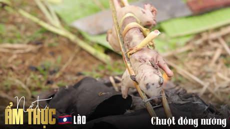Nét ẩm thực Lào: Chuột đồng nướng